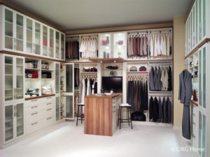 beautiful organized closet